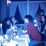 Restaurant-Polo,Séverine,Valérie,Valentine,César,Héloise-1993