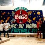 Parc des Princes-Coca-Cola-Phase,Cap-1994