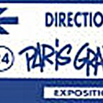 "Expo""Paris Graffiti""Rue Chapon-1990"